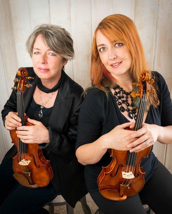 Susan Cottrell and Rhiannon Nachbaur